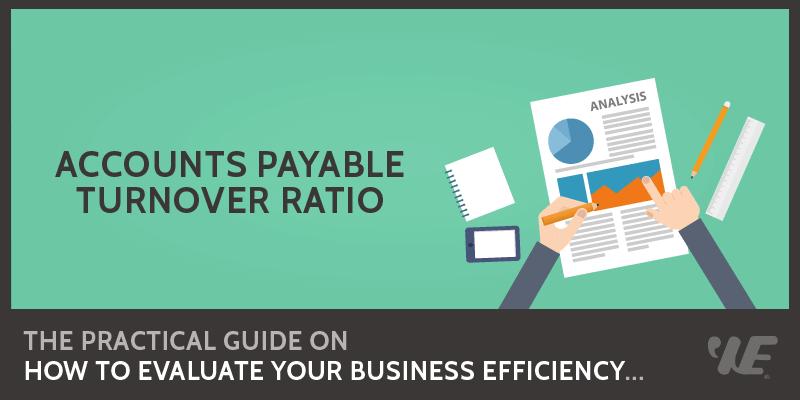 accounts payable turnover ratio