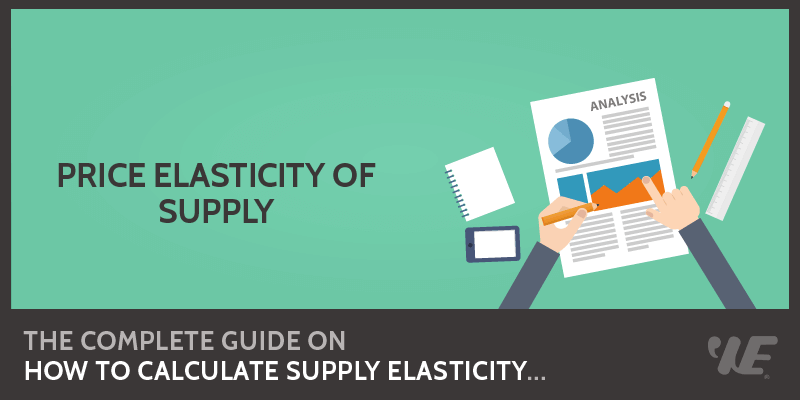 How To Calculate Price Elasticity Of Supply Pes In 2020