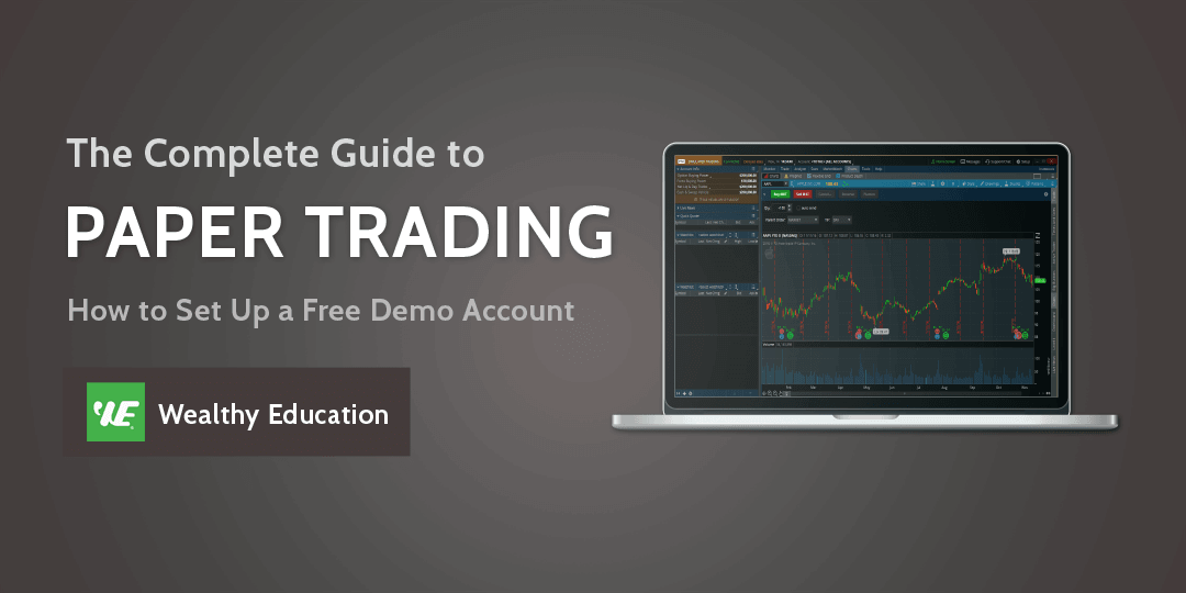 How to set up a paper trading account
