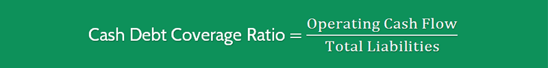 Cash Debt Coverage Ratio Formula