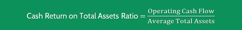 Cash Return on Assets Ratio Formula 1