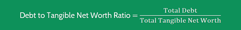 Debt to Net Worth Ratio Formula 4
