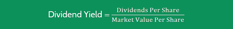 Dividend Yield Ratio Formula 1