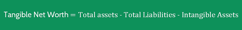 Fixed Assets to Net Worth Ratio Formula 3