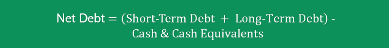 Net Debt to EBITDA Ratio Formula 2
