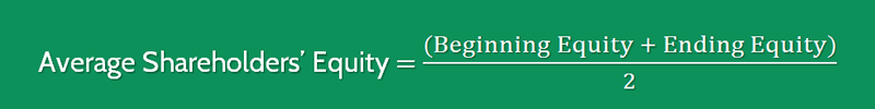 Sales to Equity Ratio Formula 3