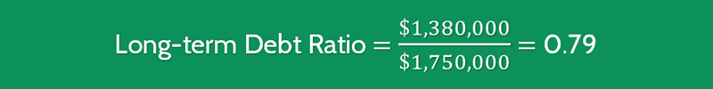 Long Term Debt Ratio Formula 2