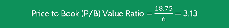 Price to Book Value Ratio Calculation 2 (PB)